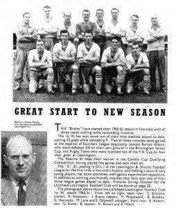 Great Start To New Season - 1960-61