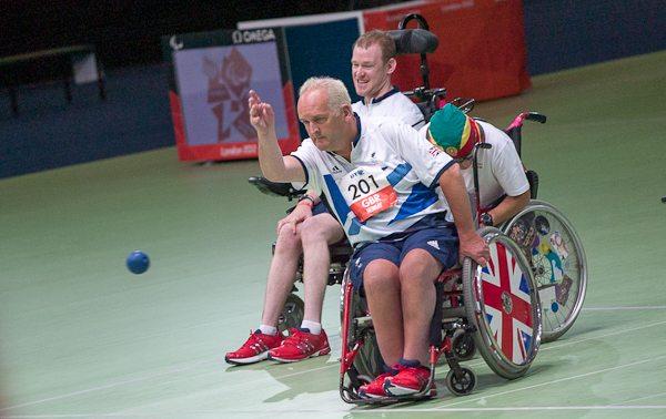 Nigel Murray (front) and Dan Bentley