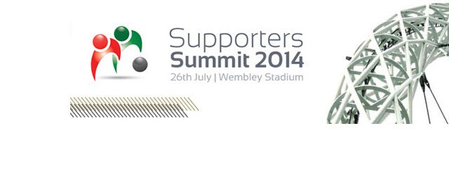 Members from the Brakes Trust will be attending the upcoming Supporters' Summit at Wembley Stadium on Saturday 26 July.