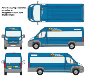 Minibus Colour and Sign-Writing