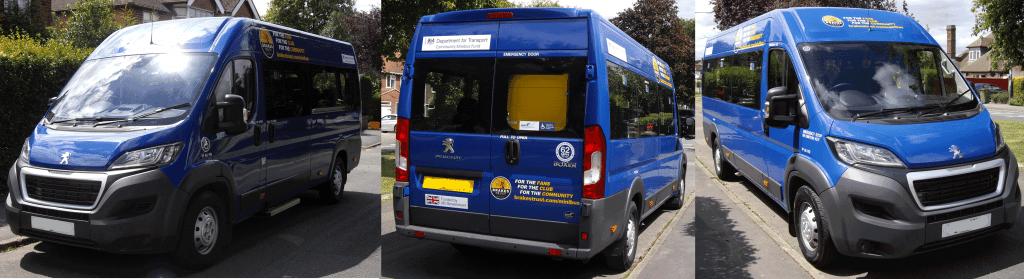 DfT Community Minibus Fund - New Minibus
