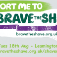 Brakes Trust chairman, Nick Rogers, is taking part in Macmillan Cancer Support's Brave the Shave campaign - during half-time at the home match v Kettering Town.