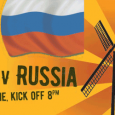 Watch the game on large screens from the terrace or in the bar. Family friendly with food. Minibus from town.